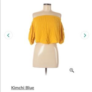 Kimchi Blue Yellow Top
